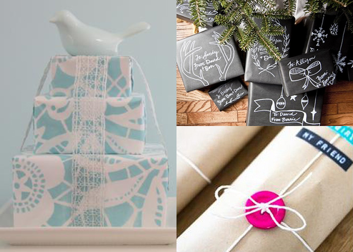 12 fantastic DIY wrapping ideas
