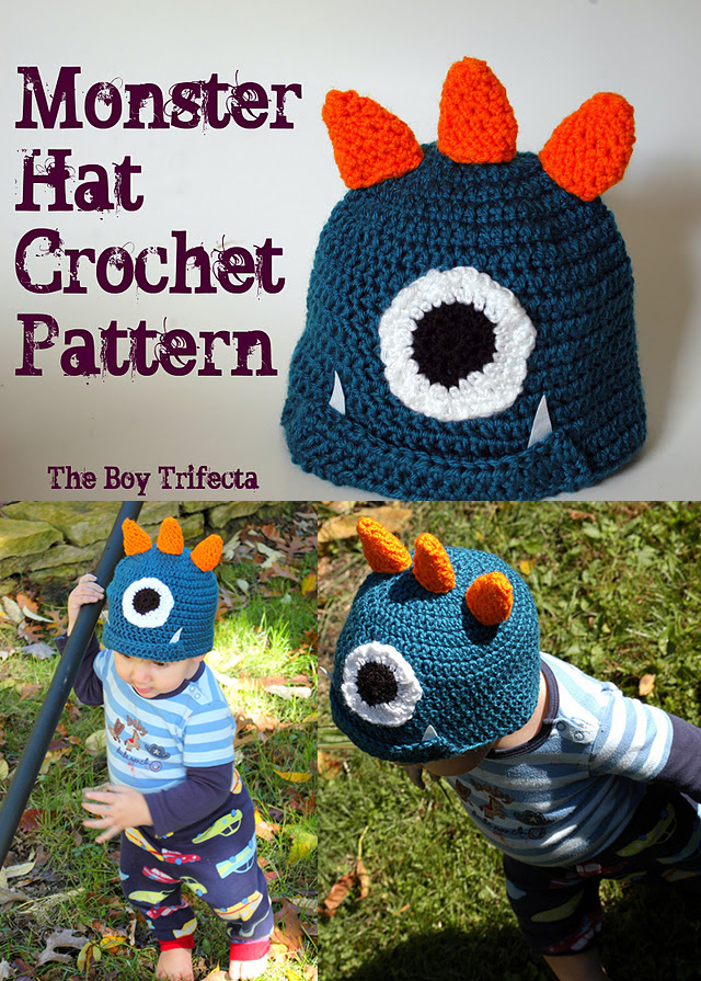 Hat patterns for boys!