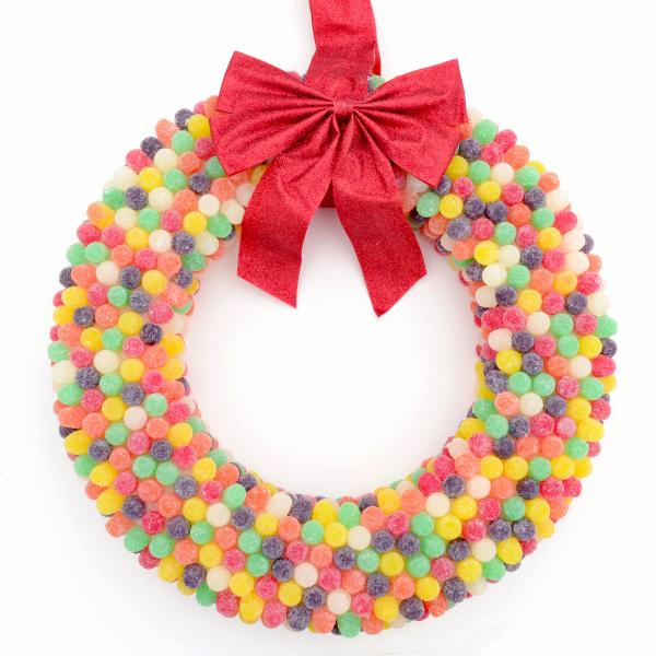 gumdrop wreath tutorial