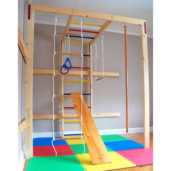 Amazing DIY indoor play set!