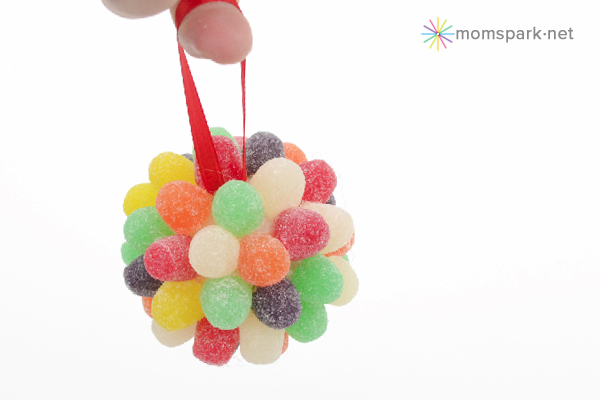 DIY candy ornament ideas!