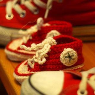 crochet converse patterns