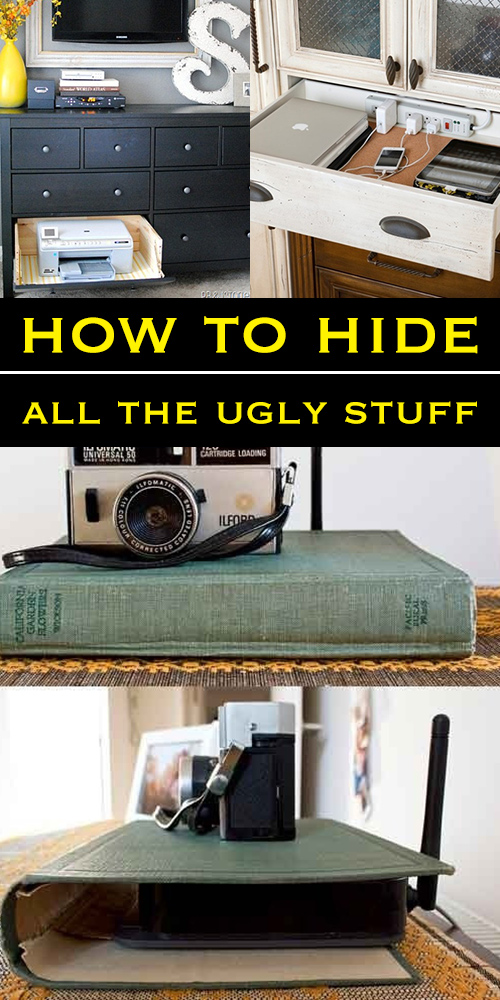 How to hide all the eyesores!