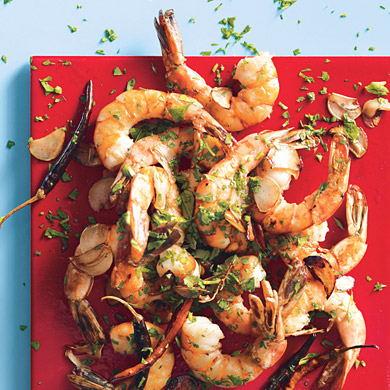 Chile garlic shrimp- This is seriously the best shrimp!