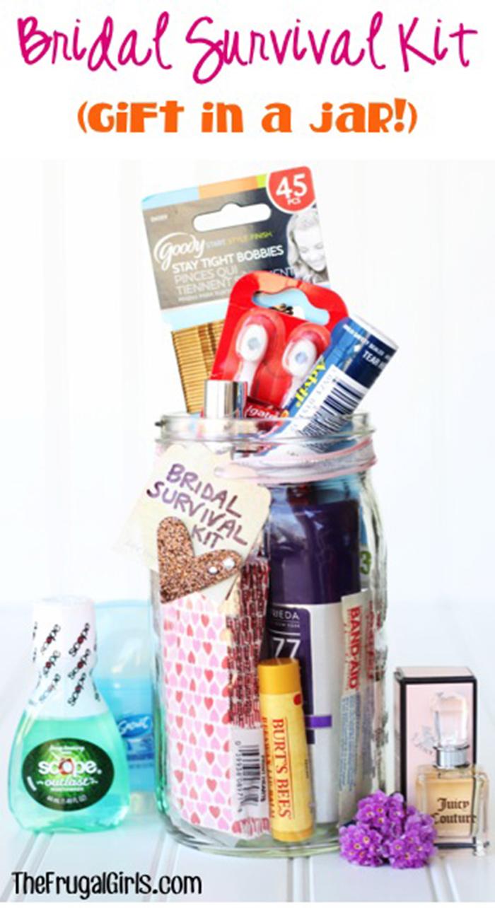 DIY bridal survival kits
