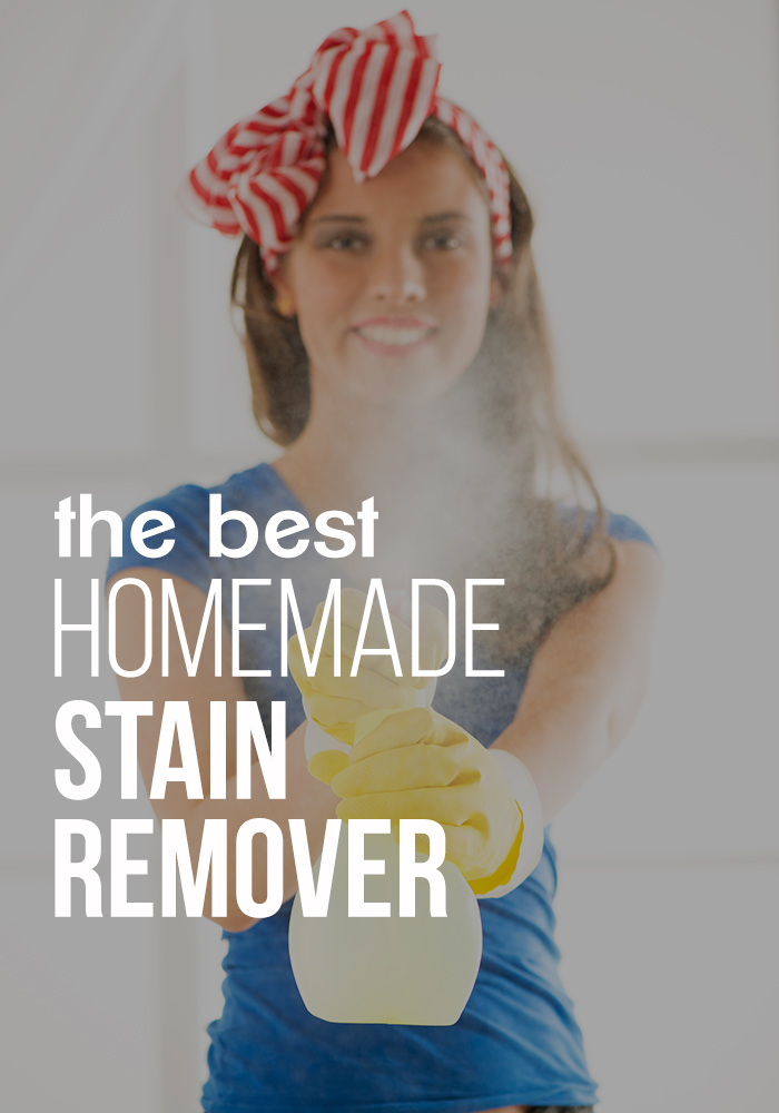 the BEST homemade stain remover - Make this today!