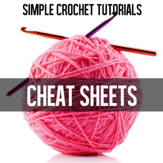 PRINT! Great crochet cheat sheets