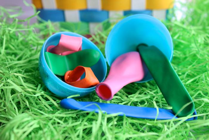 Balloons for Easter Egg Fillers
