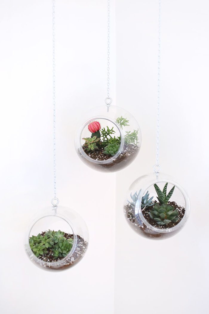 tutorial for modern plant hangers (using a fish bowl!)