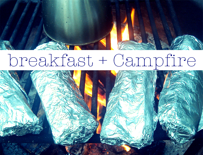 Prepare these delicious sausage, egg, and cheese filled burritos at home and cook them for breakfast over the campfire.