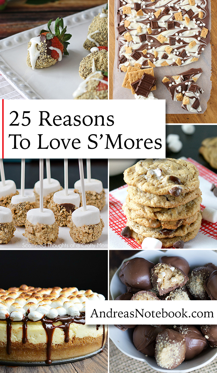 I need to make ALL of these!!! 25 S'More Recipes!