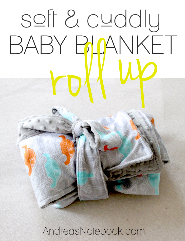 Baby blanket tutorial - LOVE!