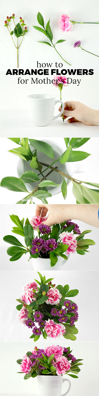 How to arrange flowers for Mother's Day