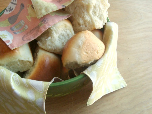 How to sew a bread basket cover