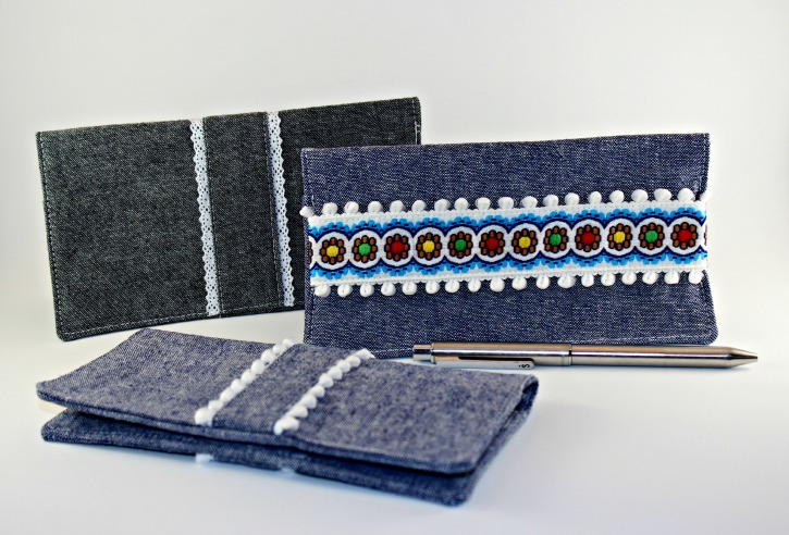 Learn how to sew your own checkbook cover with this tutorial