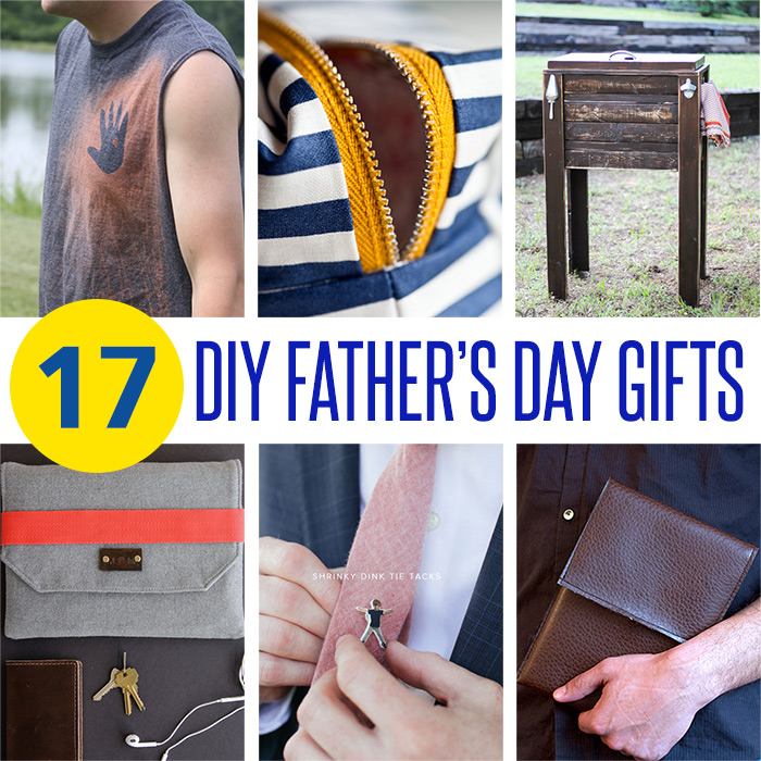17 DIY Father's Day Gift Ideas