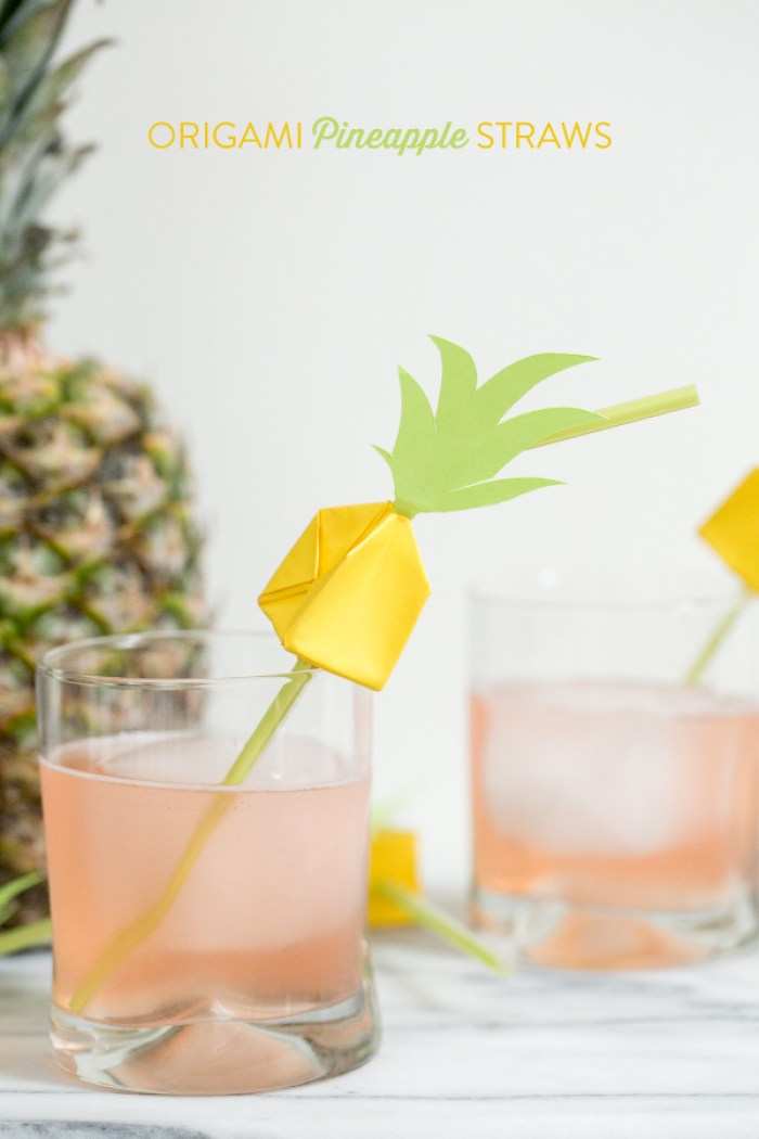 Pineapple-straw