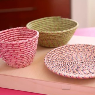 DIY Rope Bowls - I didn't know this was so easy!