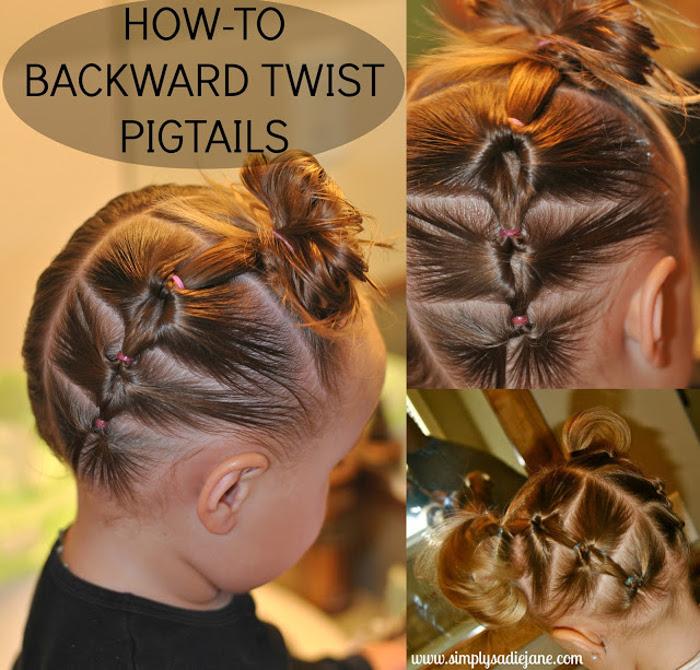 Backward Twist Pony