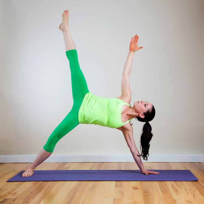 Flatten Belly with Yoga