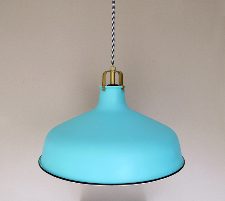 how to customize an IKEA pendant lamp