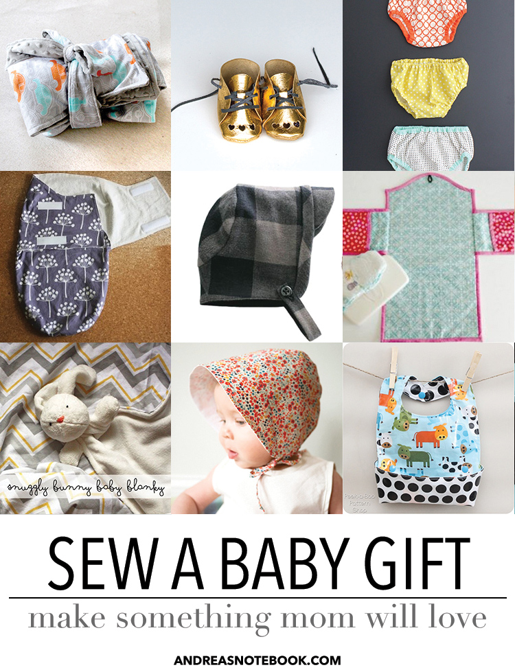 Sew a baby gift new moms will love!