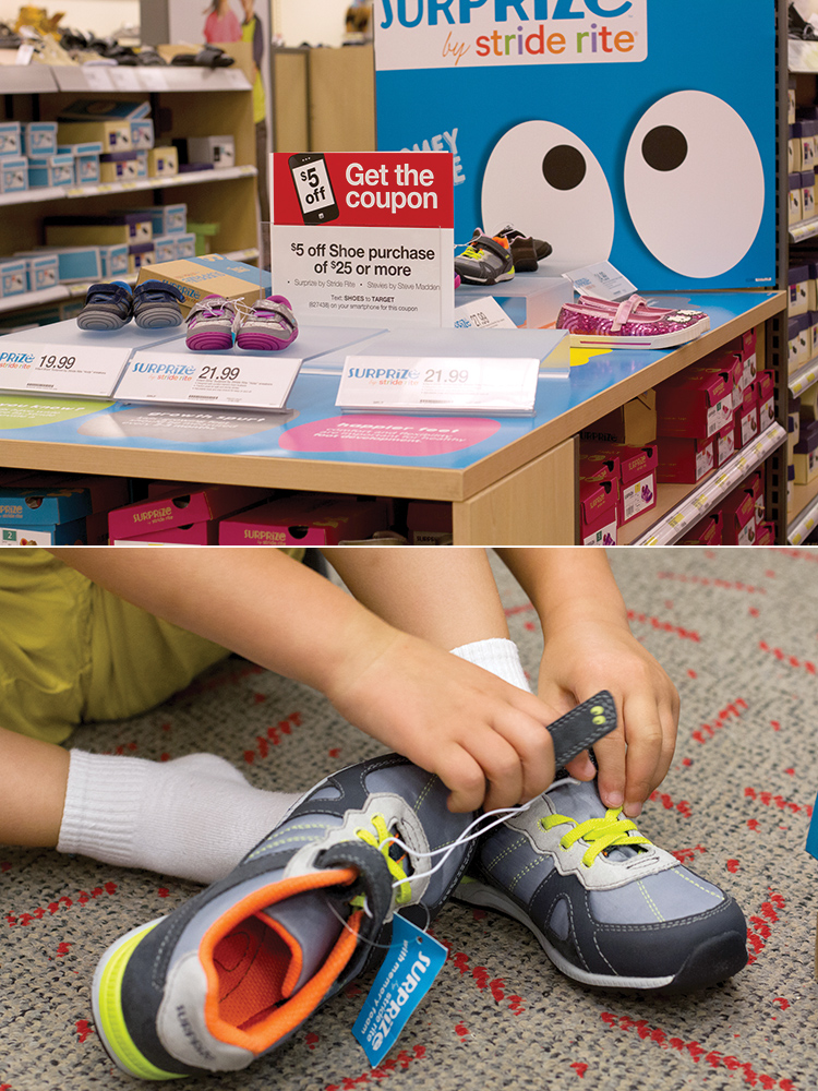 Surprise by Stride Rite now at Target