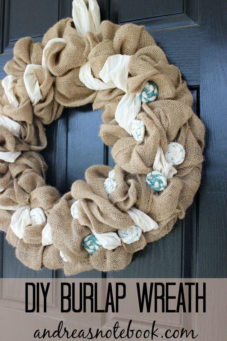 DIY Burlap Wreath Tutorials