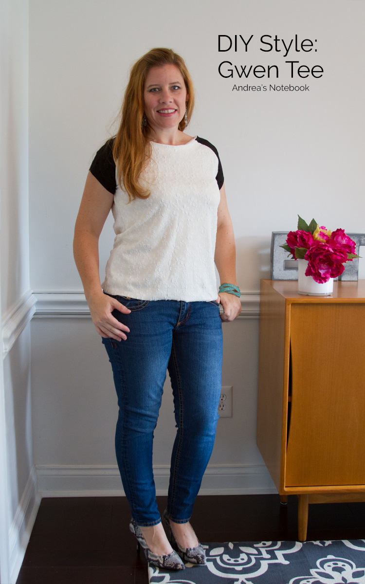 Gwen Top: great tee sewing pattern