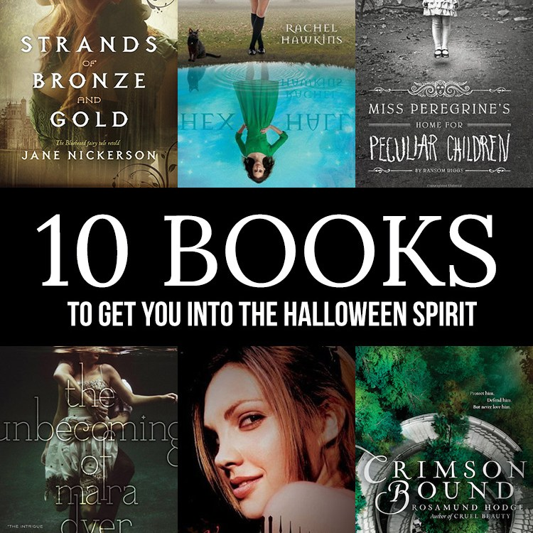 10 books to get you into the Halloween spirit