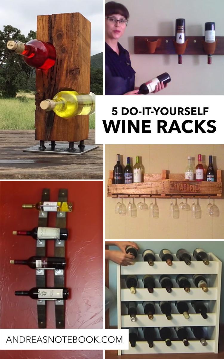 DIY Wine Racks to Build
