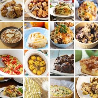 16 Crock Pot Breakfast Recipes