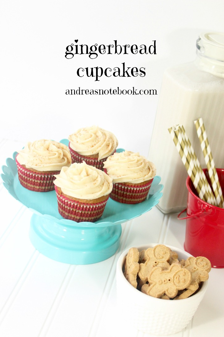 Gingerbread-Cupcakes - cover