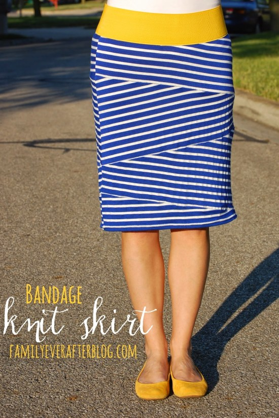 Bandage Skirt Tutorial