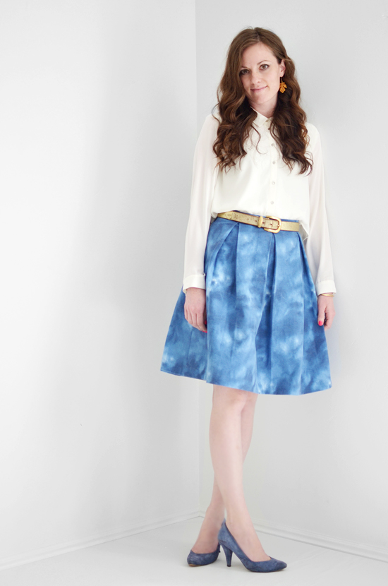 Kate Spade Inspired DIY Skirt Tutorial