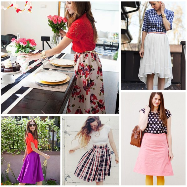 21 Skirt Tutorials