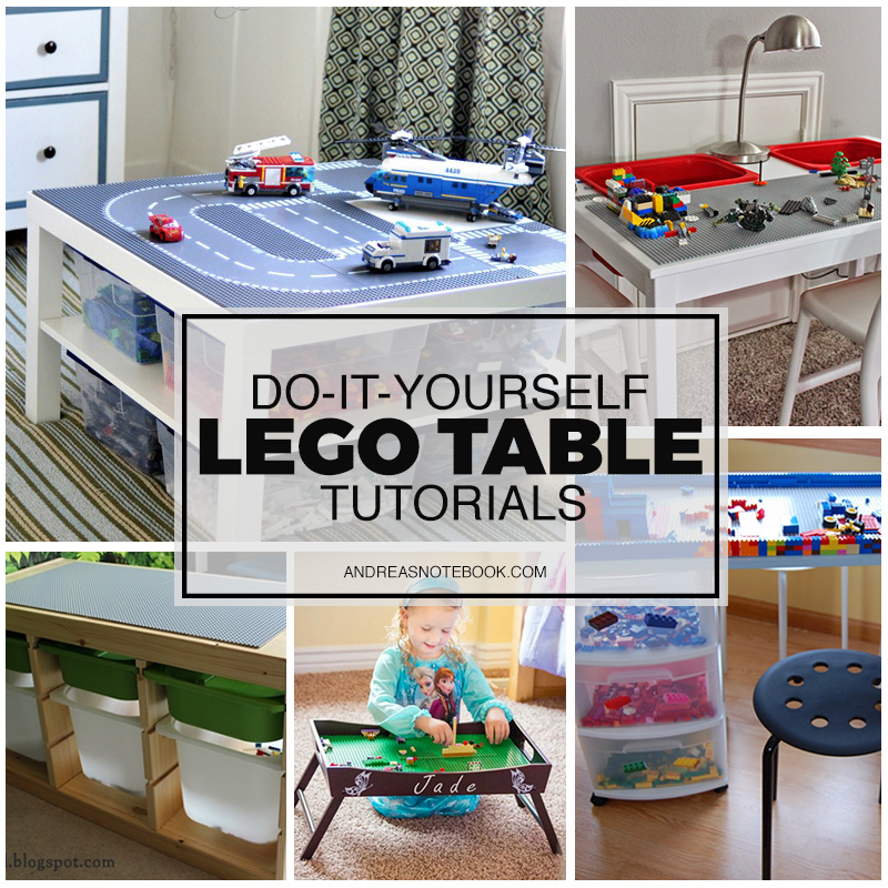 DIY Lego Table Tutorials