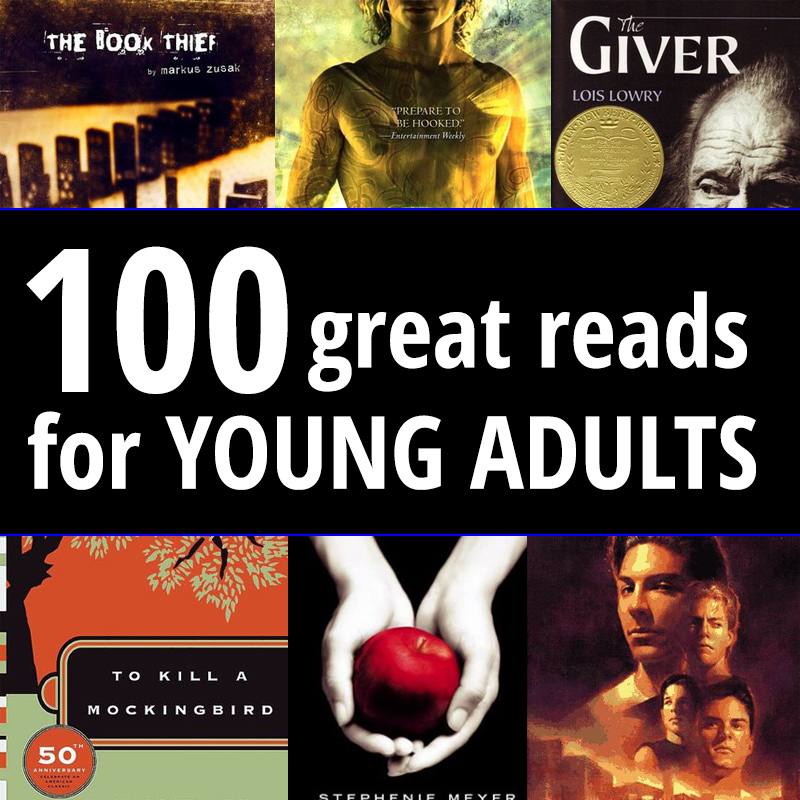 100 Young Adult Books to read