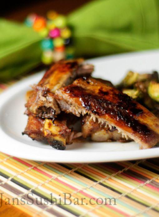pressure cooker spare ribs - instant pot recipe