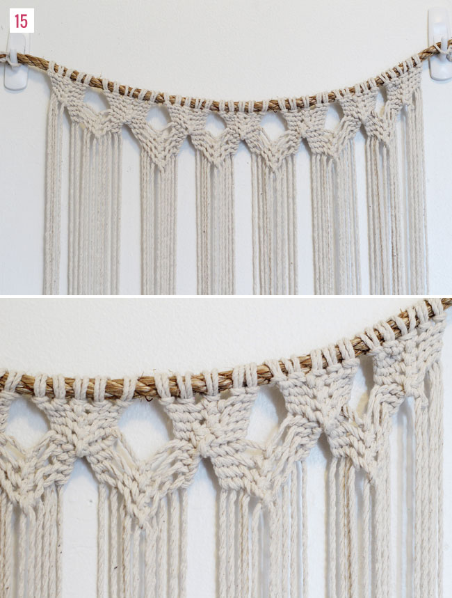 DIY Macrame Backdrop and other amazing macrame projects!