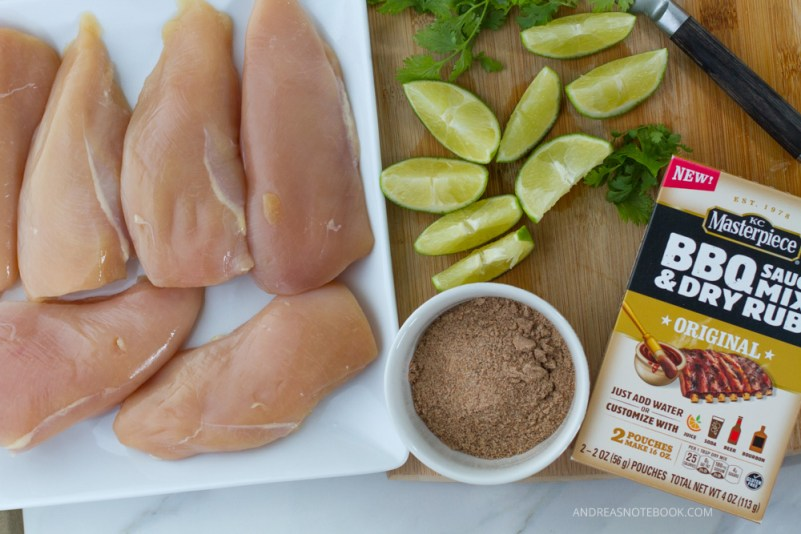 barbecue cilantro lime chicken recipe