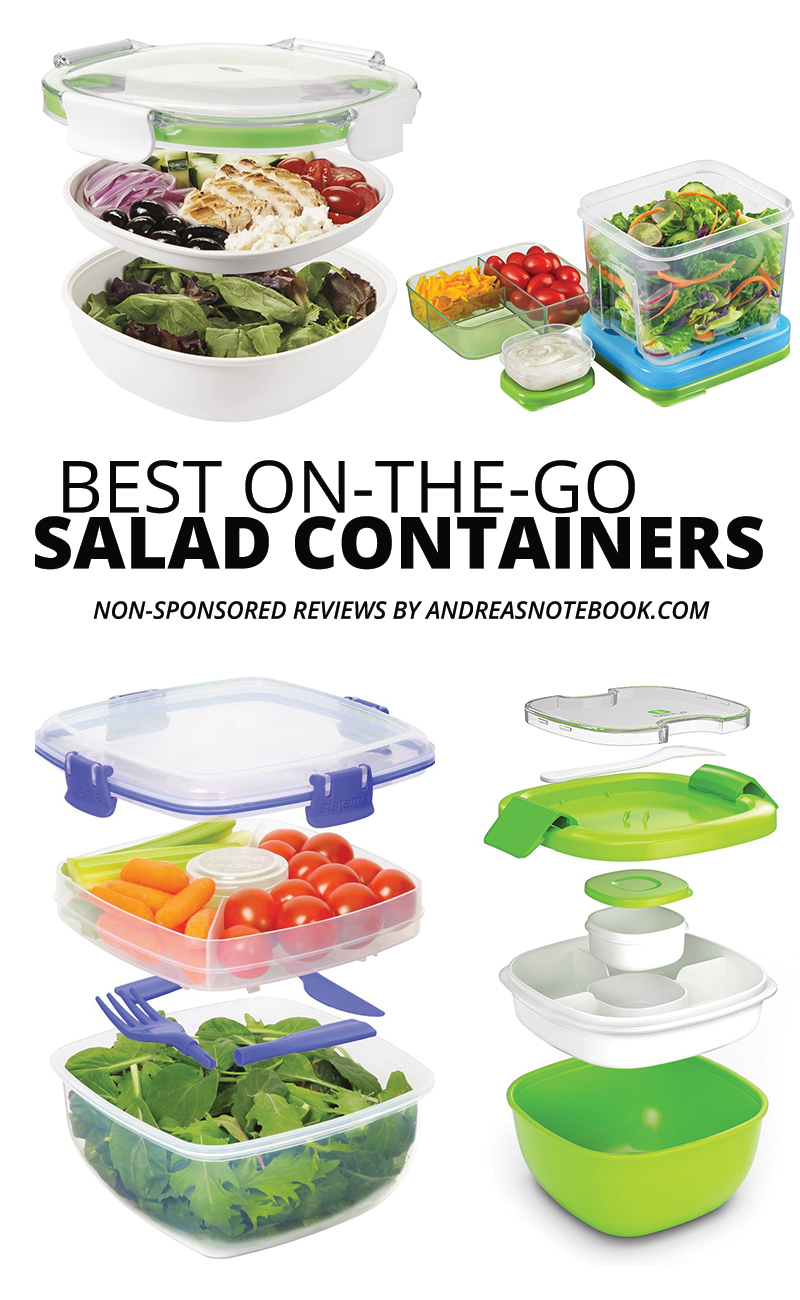 salad lunch container reviews - take salad on the go