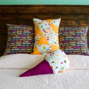 DIY Quilted Pillows