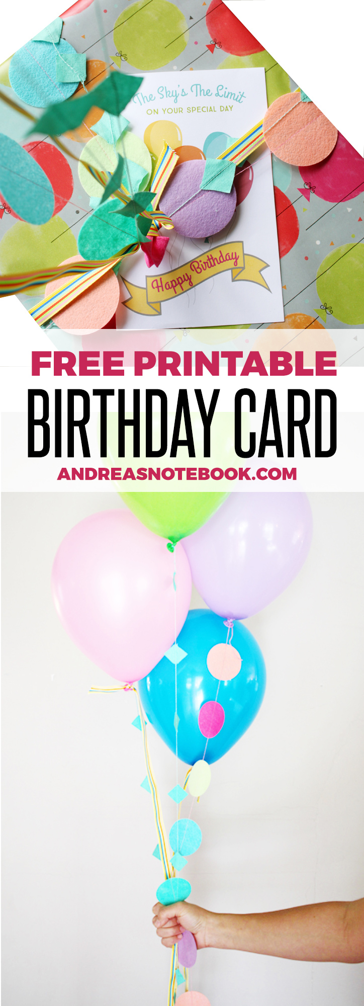 Download this free printable birthday card!