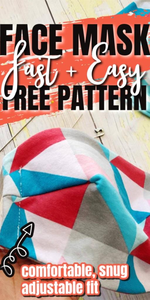 diy fast easy mask pattern