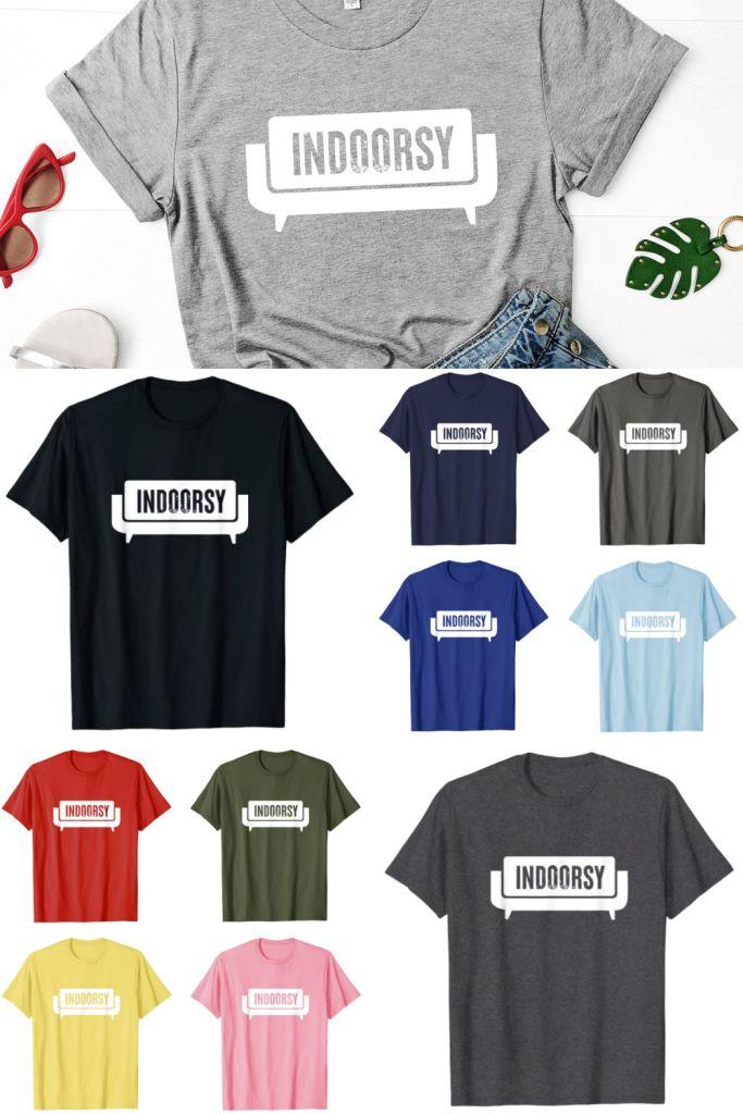 Funny Indoorsy T-Shirt