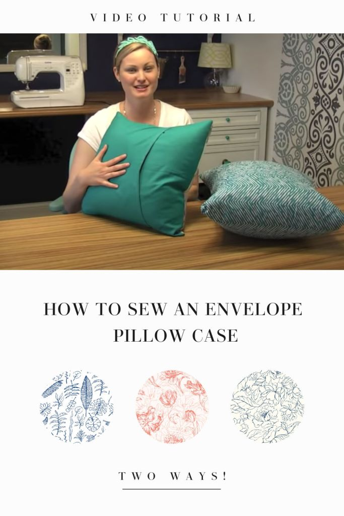 How to sew an easy envelope pillowcase