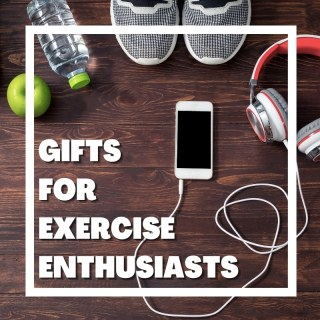 cell phone and cord, headphones, tennis shoes, water bottle