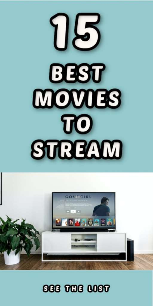 15 Must Watch Movies! teal turquoise tv