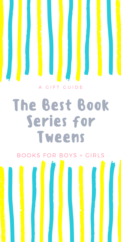 text reads book series for tween